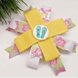 🆕HANDMADE 🌺Poppy Flower and Sandals Design